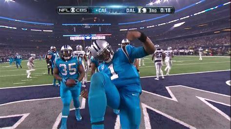 cam newton saved    zone dancing