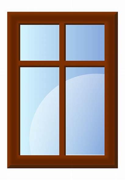 Window Pane Vector Graphic