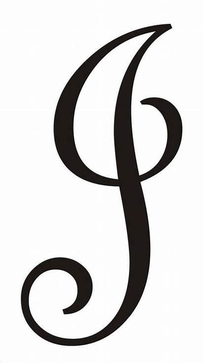Monogram Stencil Letter Font Diy Stencils Custom