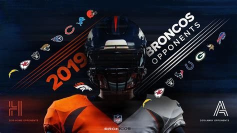 broncos  schedule  home   matchups