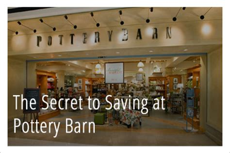 How Much Does Pottery Barn Pay by 5 Secret Ways To Save At Pottery Barn Part 2 The Krazy