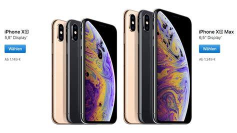 Apple Iphone Xs Und Iphone Xs Max  Neue Flaggschiffe