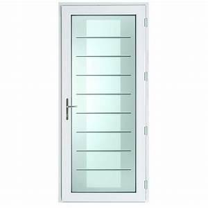 Barre De Porte D Entrée : porte d 39 entr e vitr e v rona ~ Premium-room.com Idées de Décoration