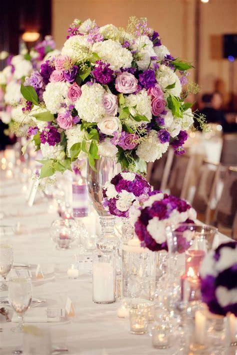 image  purple carnations purple rose centerpieces