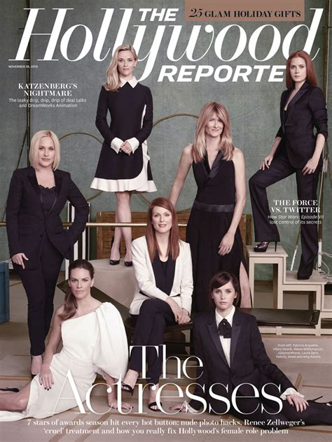 Actresses Cover The Hollywood Reporter, Talk Nude Photo ...