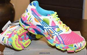 Asics gel noosa tri 7 glow in the dark pink neon multi