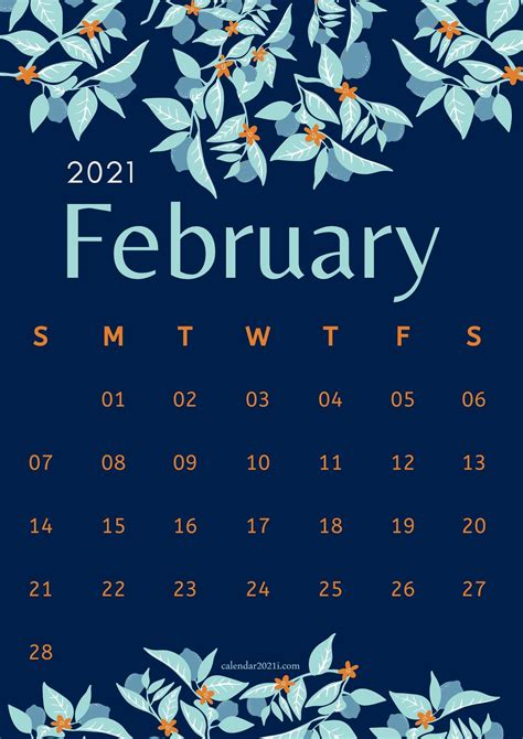 iphone february  calendar wallpapers