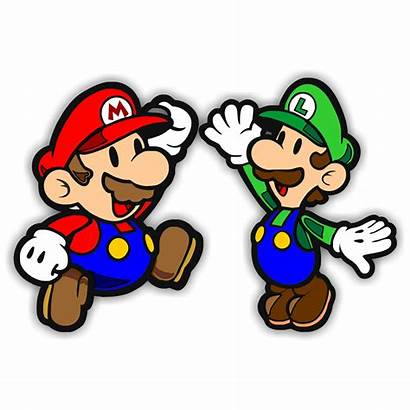 Mario Clip Bros Super Brothers Clipart Cliparts