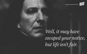 Here are 20 quotes by Severus Snape which will remind you ...
