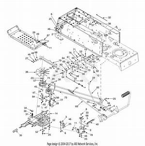 Mtd 13a8693g131  2000  Parts Diagram For Drive  Frame