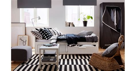 brimnes daybed  drawers  ikea bedroom ideas