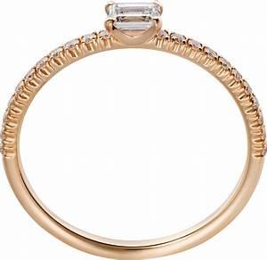 CRB4216700 Bague Etincelle De Cartier Or Rose