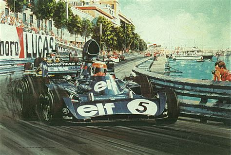 automobile art watts nicholas monaco grand prix