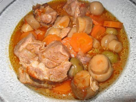 comment cuisiner le sauté de porc recette de sauté de porc en ragoût la recette facile