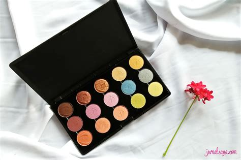 Harga Pac Eyeshadow Palette 48 Color review inez color eyeshadow palette jurnalsaya
