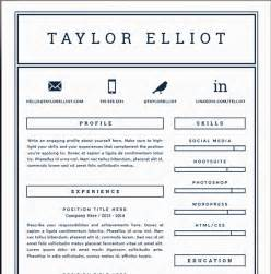 single page resume template free 41 one page resume templates free sles exles formats free premium