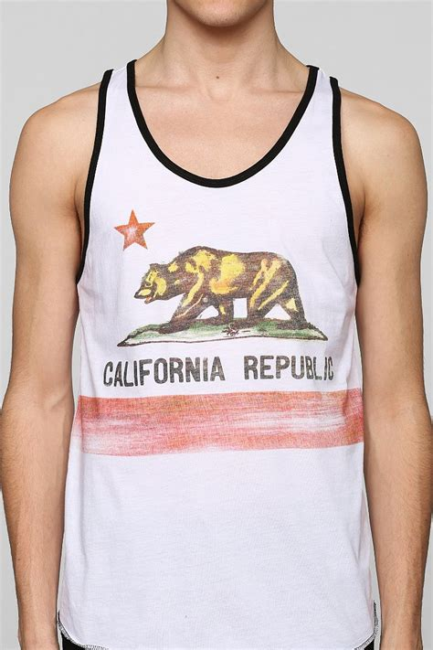 black o tank top lyst outfitters california republic tank top in