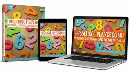 Playground Preschool Patterns Cognitive Numbers Skills Math