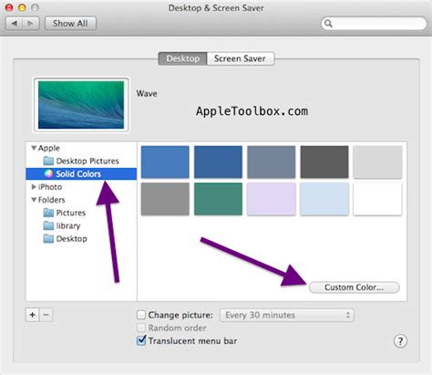 How To Change Your Background On A Mac Mac Os X How To Change Your Desktop Background Wallpaper