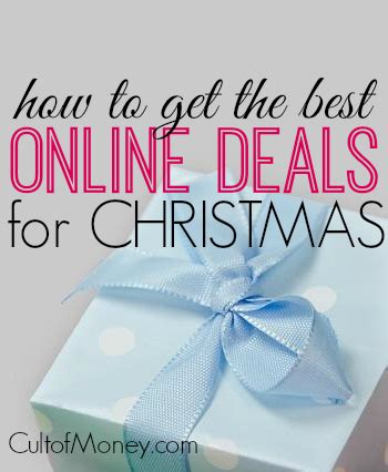 how to get the best online deals for christmas