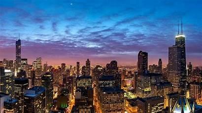 Skyline Atlanta Chicago Desktop