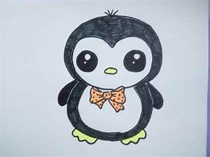 Bilder Zeichnen Für Anfänger : kawaii bilder tutorial einen pinguin malen zeichnen lernen f r anf nger und kinder youtube ~ Frokenaadalensverden.com Haus und Dekorationen