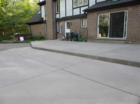square concrete patio ideas landscaping gardening ideas