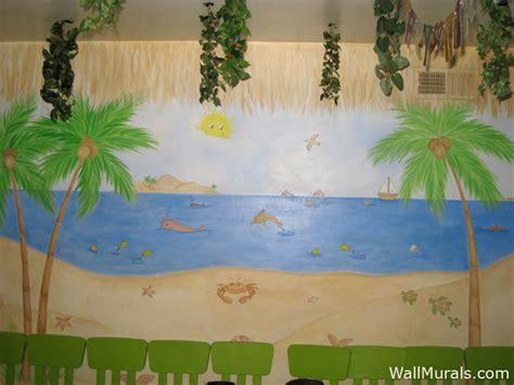 preschool wall murals daycare murals playroom mural 872 | 14 ocean preschool mural
