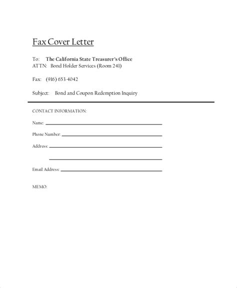 fax cover letter   word  documents
