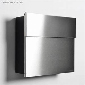 Briefkasten Edelstahl Design : letterman 4 briefkasten edelstahl anthrazit ral 7016 radius design exklusiv ebay ~ Markanthonyermac.com Haus und Dekorationen