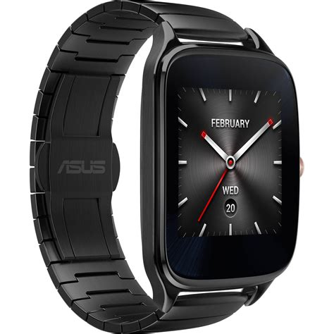 android wear smartwatch asus zenwatch 2 android wear smartwatch wi501q gm gr b h photo
