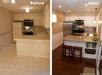 kitchen remodel before and after Beautiful Kitchen Remodel On A Budget - Before and After Pictures | RemoveandReplace.com