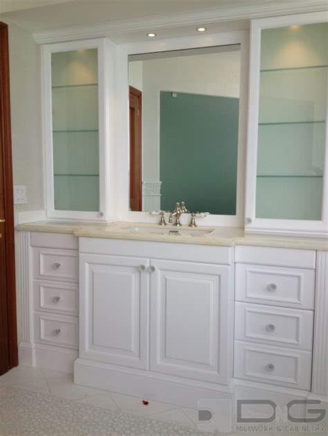 Bathroom Cabinet With by Bathroom Storage Ideas Dng Millwork Miami