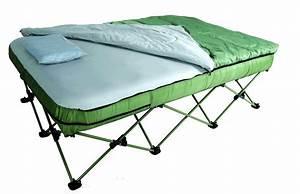 Camping Bed Set w / Lightweight Sleeping Bag