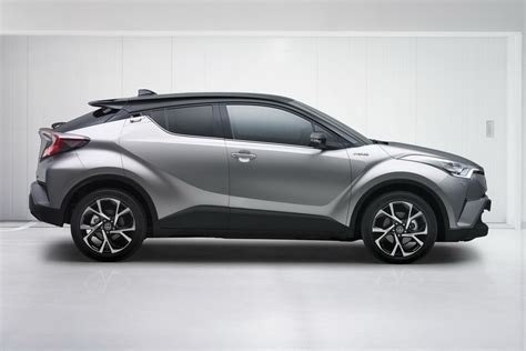 toyota compact toyota c hr production compact suv leaks out early