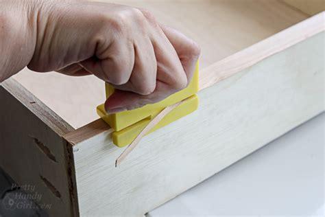 finish raw plywood edges pretty handy girl