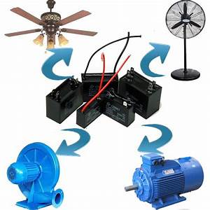 A Class Ac Motor Fan Cbb61 2uf 400v 2wire Ceiling Fan