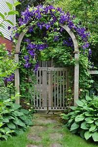 Déco De Jardin : portillon de jardin 50 id es pour votre ext rieur ~ Melissatoandfro.com Idées de Décoration
