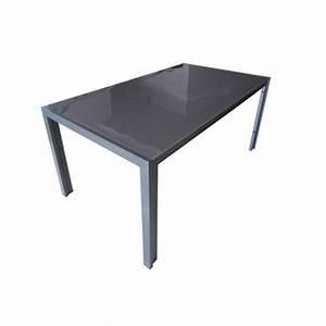 Protection Table En Verre Leroy Merlin : table de jardin aluminium bois r sine leroy merlin ~ Melissatoandfro.com Idées de Décoration