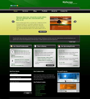 Descargar Templates Paginas Web Gratis by Dise 241 Os De Paginas Web Gratis Para Descargar Casa Dise 241 O