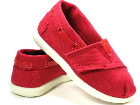 Toddler Shoes : New Oxford Baby Toddler Boys Girls Canvas Shoes Size 4 5 6