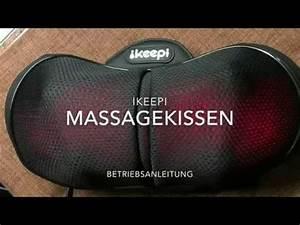 Massagegerät Rücken Nacken : ikeepi massagekissen shiatsu massageger t f r nacken schultern r cken produkt test und ~ Orissabook.com Haus und Dekorationen