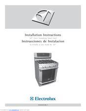 electrolux dual fuel range manual