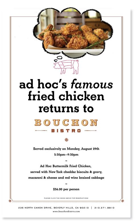 ad hoc fried chicken night at bouchon taryn cox the wife