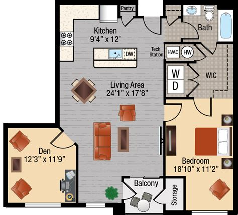 1 bedroom and den apartments in maryland 1 bedroom apartments with a den in frederick maryland