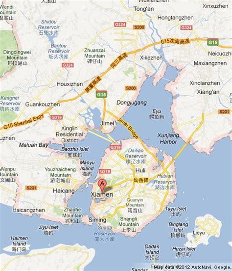 map  xiamen