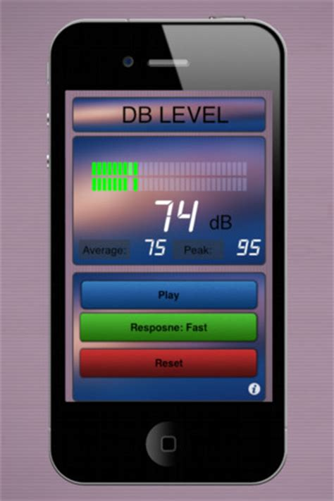 iphone decibel meter decibel meter hd free app for iphone utilities