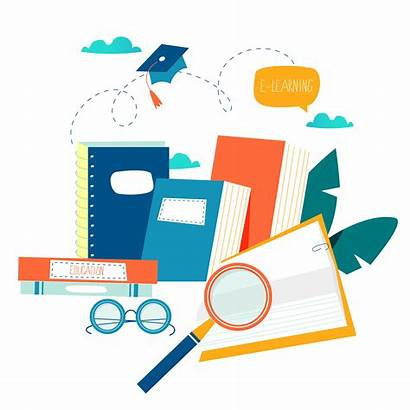 Training Courses Education Vector Tutorials Books Graphics