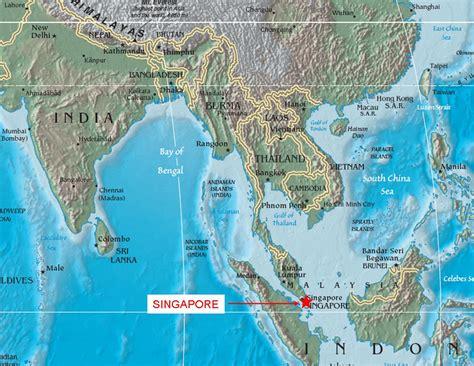 maps map singapore