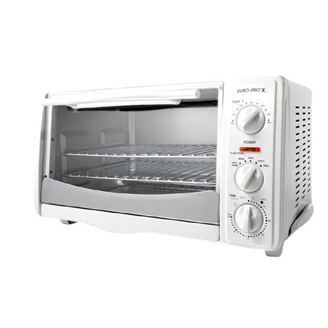 White Digital Toaster Oven by Shop Pro 6 Slice White Toaster Oven At Lowes